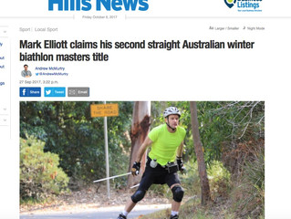 Mark Elliot, Masters Champion in the News!