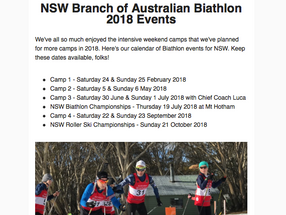 Biathlon Newsletter Just Published