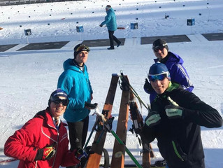 Tom Wilkinson Represented Australia at the IBU Development Camp