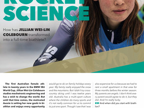 IBU features Jill in the Biathlon World Magazine