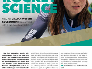 IBU features Jill in the Biathlon World Magazine
