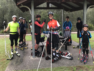Sydney Biathlon training 29 April 2018