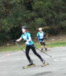 Rollerskiing in Sydney