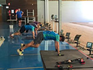 Biathlon training camp, Sydney Feb 2/3, 2019