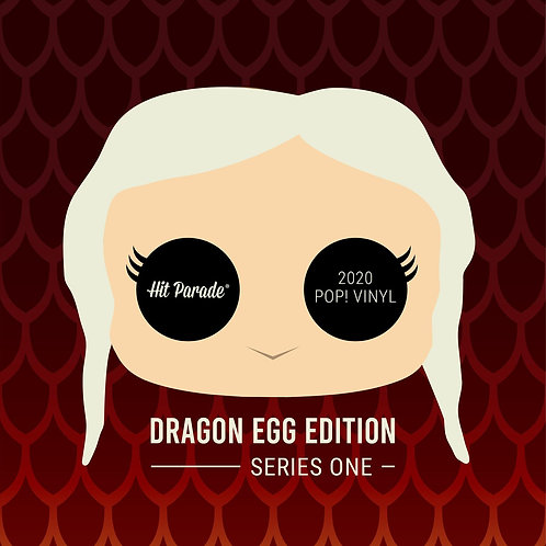 Hit Parade POP Vinyl Dragon Egg Edition Hobby Box