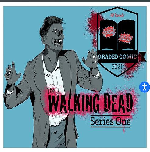 The Walking Dead Graded Comic Edition Hobby Box