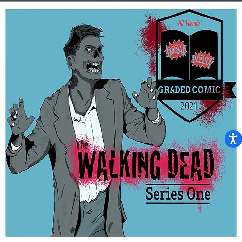 Hit Parade The Walking Dead Graded Comic Edition