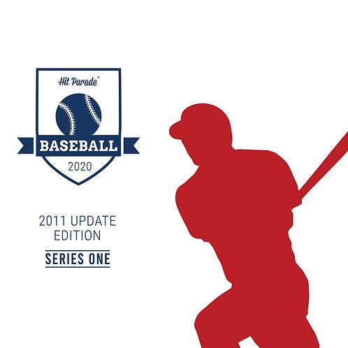 11 Topps Update Baseball Hobby Box