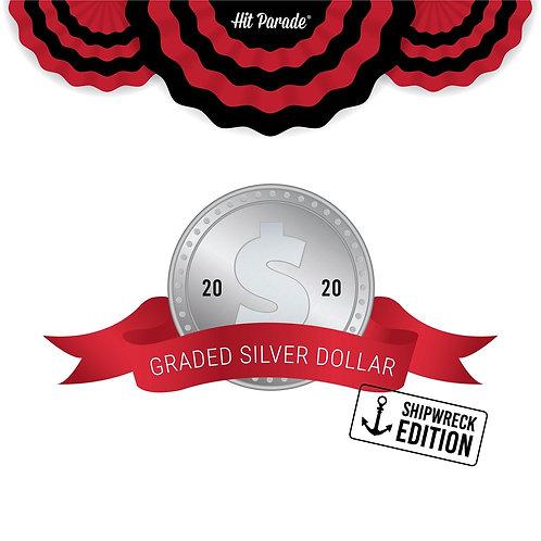Graded Silver Dollar - Shipwreck Edition