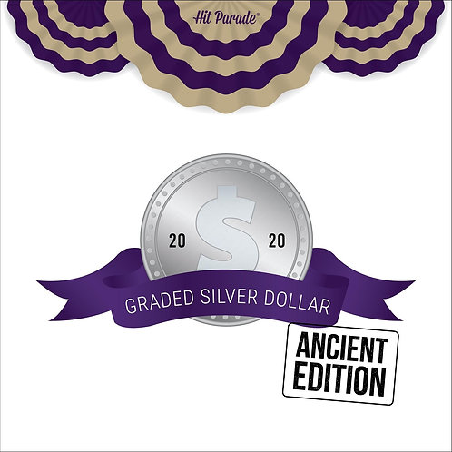 Graded Silver Dollar - Ancient Edition
