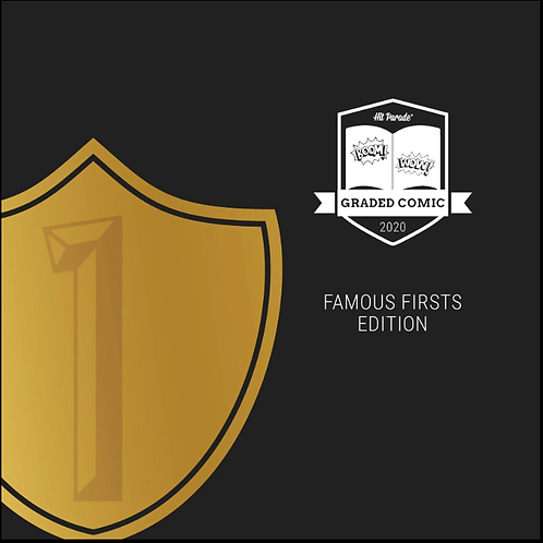 Graded Comic: Famous Firsts