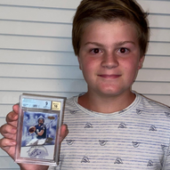 """""""Thank you for my Drew Brees Card!"""""""