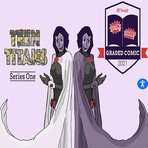 Hit Parade Teen Titans Graded Comic Edition