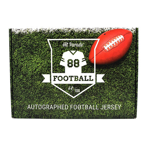 Autographed 1st ROUND EDITION Football Jersey