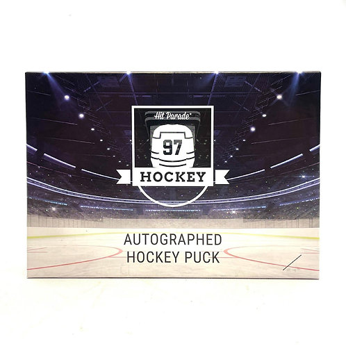 Autographed Hockey Puck Edition
