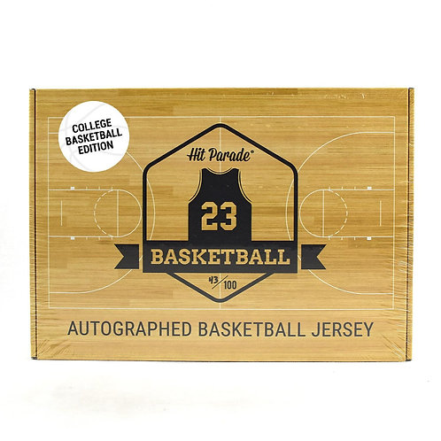 Autographed College Basketball Jersey