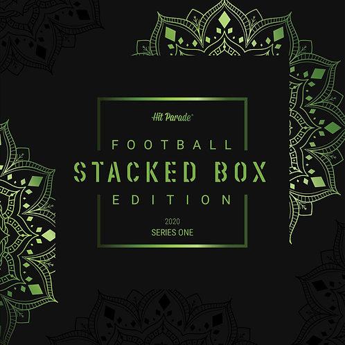 Football STACKED BOX Unopened Edition Hobby Box