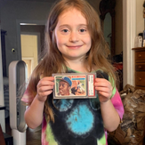 """pulled a hank Aaron from 1956 topps from Dave and Adams the other night!"""