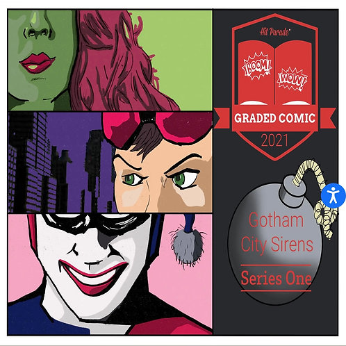 Hit Parade Gotham City Sirens Graded Comic Edition