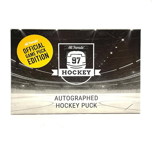 Autographed Official Game Hockey Puck