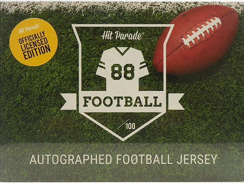 Autographed Officially Licensed Football Jersey