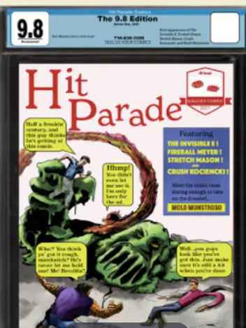 9.8 Graded Comic Edition