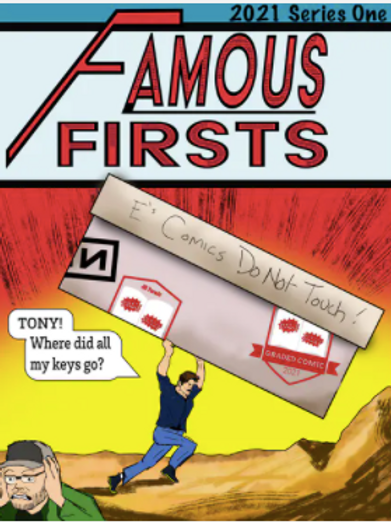Famous Firsts Graded Comic Edition