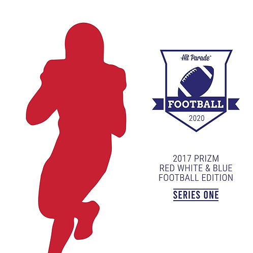 2017 Prizm Football Red White Blue Edition