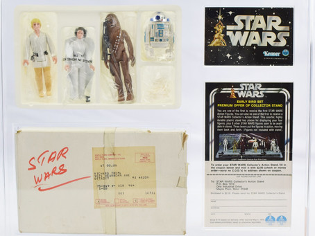Want to see the FIRST EVER Star Wars Action Figures?!