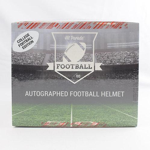 Autographed College Full-Size Football Helmet