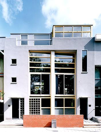 Bas Gremmen Architectuur: Voorgevel Woonhuis Delft