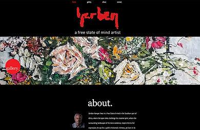 Website artist Gerben Kamper