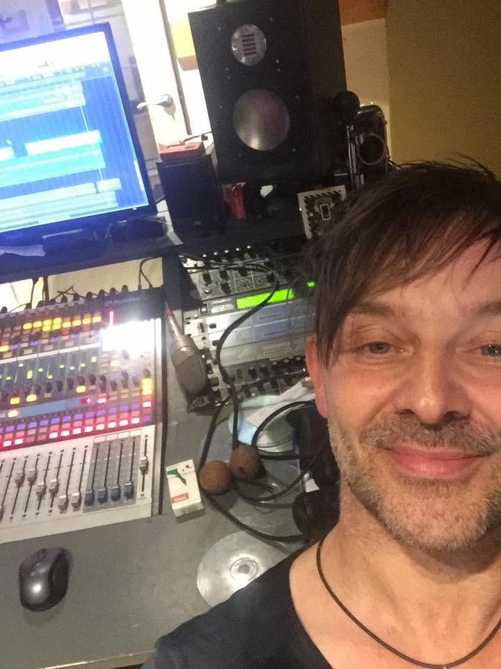 John Emmanuel in studio