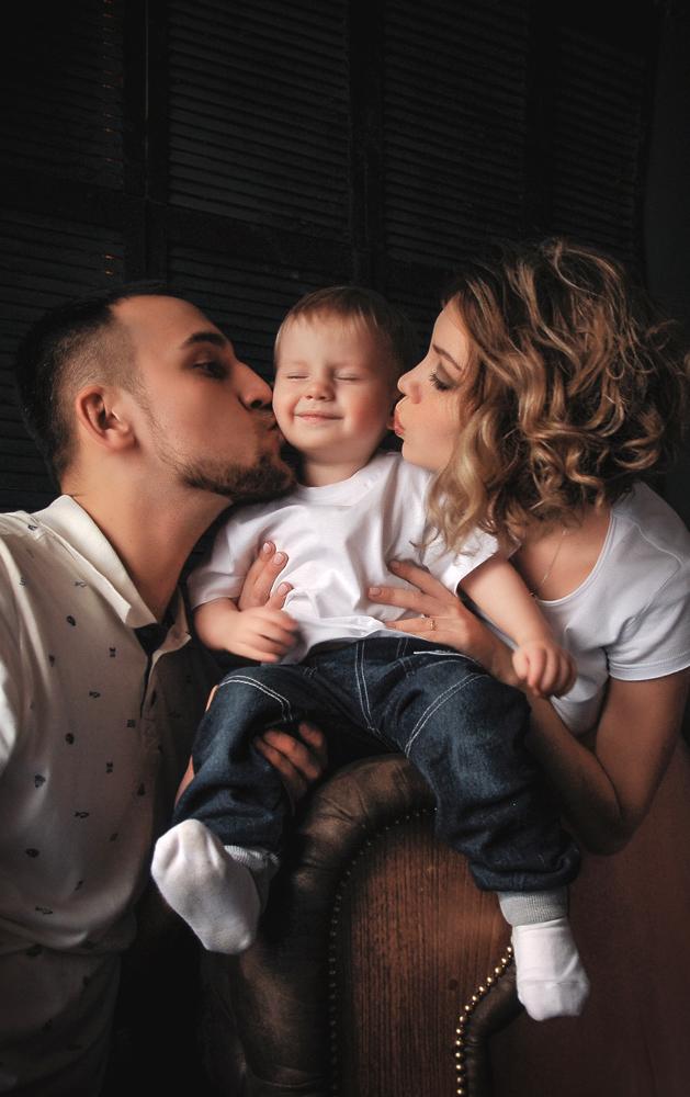 Семейная съемка, лофт