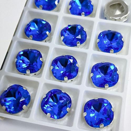 Кушоны LUX ~capri blue~ 12мм в цапах