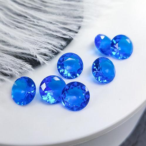Кристалл хрусталь прозрачный шатон 3А 12мм (прочтите описание⤵️)