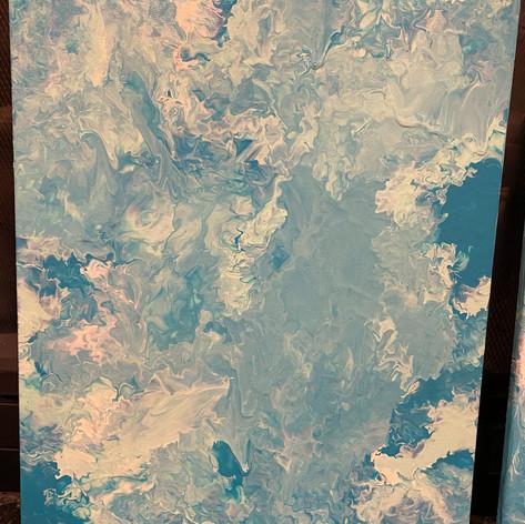 12 x 16 acrylic on canvas