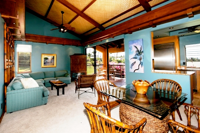 Maui - Ekahi Village #31D Living Rm.