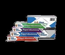 Papel Aluminio DON BOLSON