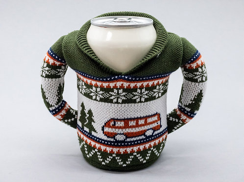 Puffin Coozies Christmas Sweater (Camping)