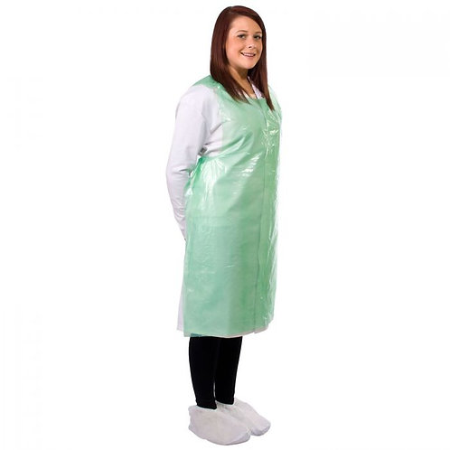 Supertouch 20 Micron PE Aprons Flat-Packed