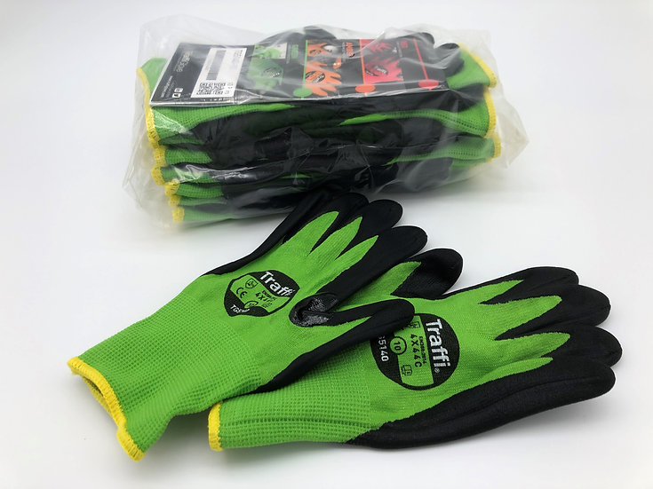 TraffiGlove TG5140 Morphic Cut Level 5 Safety Gloves - XL