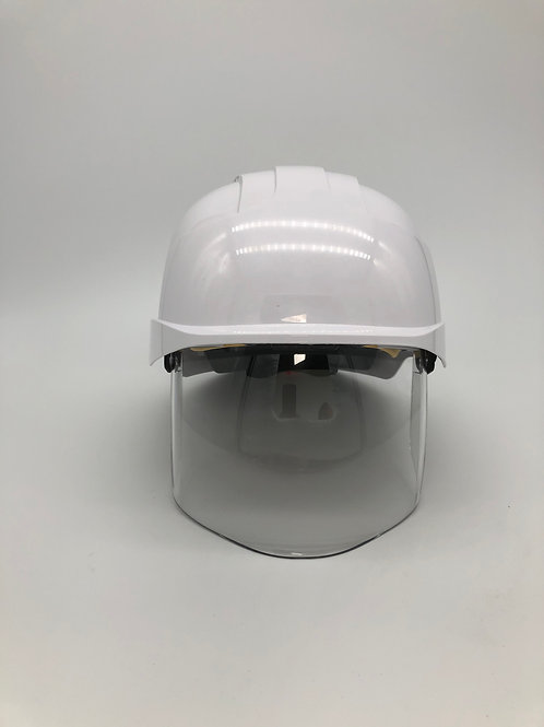 JSP - The All New EVO VISTAshield White Safety Helmet - Vented - Conforms to EN3