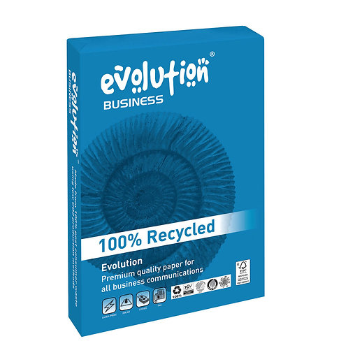 Evolution Business A4 Recycled Paper 100gsm White