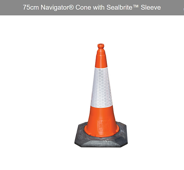 JSP Road Safety Traffic Cone