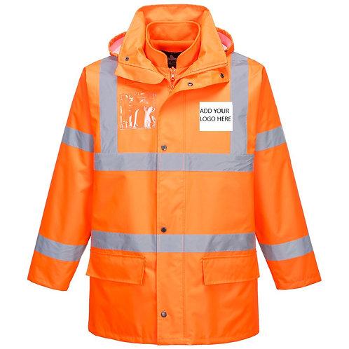 Hi-Vis Essential 5-in-1 Jacket