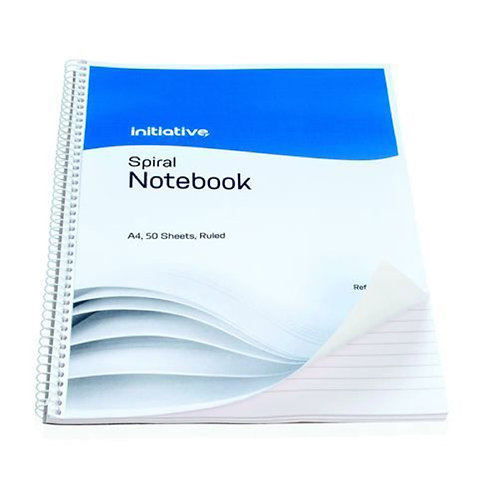 A4 Spiral Notebook - Pack of 10