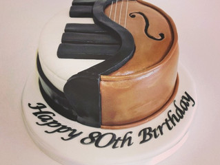 If music be the food of love, give me some with a side order of cake!
