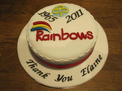 Rainbows Leader leaving party