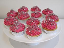 Lemon sherbert cupcakes